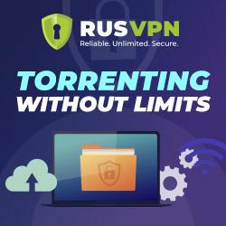 Sicher und anonym Torrents laden - ab sofort mit RusVPN!